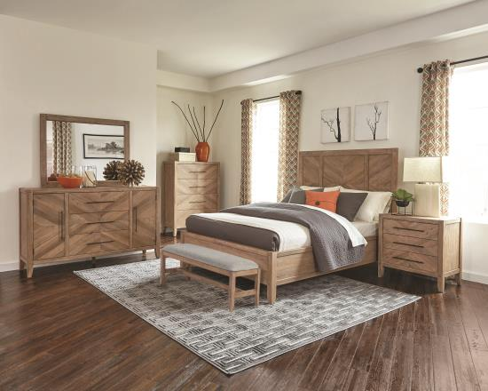 C200 Series: Chevron Wooden Bedroom Set in Portland Oregon ...