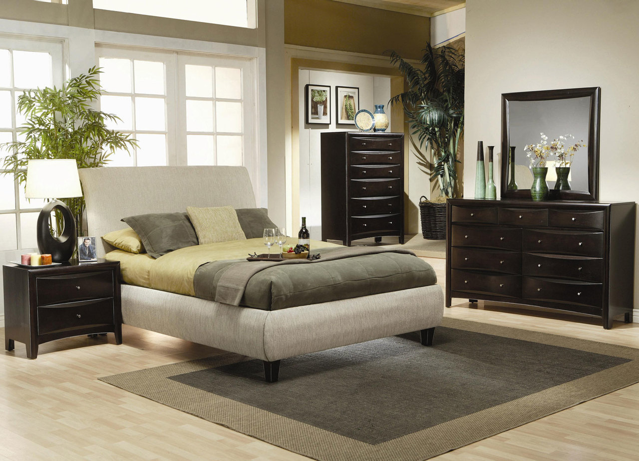 C216 Series Lovely Contemporary Style Bedroom Set In Portland Oregon Revitalized Furnishings