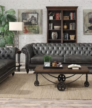 Faux Leather Home Furniture in Portland Oregon -Revitalized ...
