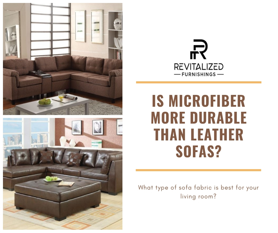 Is Microfiber More Durable Than Leather Sofas?