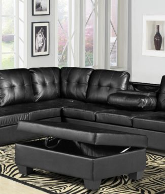 Black Leather Furniture in Portland Oregon Archives - Revitalized ...